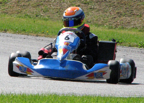 Tanguy Carel - Pilote FA Kart  - Braun Racing - SMC
