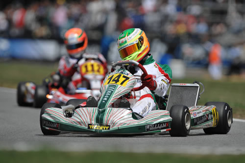 Chamberlain - Tony Kart - TM - Champion d'Europe KF2