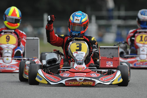 Vainio - Maranello - Maxter  - Champion d'Europe Super KF 2009