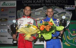 Podium Coupe de France Long Circuit St Laurent de Mure