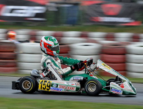 Angelo Lombardo, Champion d'Europe 2009 - KZ2